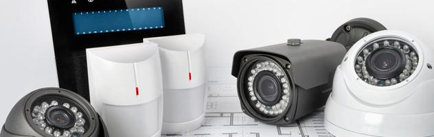 Kamery i alarmy